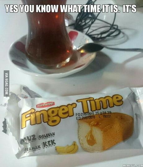 finger time