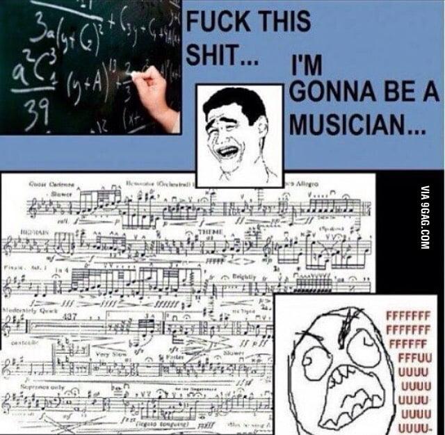 Raise your hands, musicians