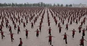 A legion of shaolin apprentices