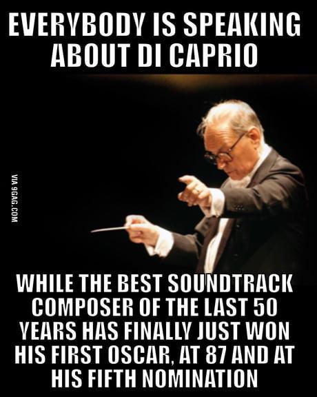 Thank you Ennio Morricone!