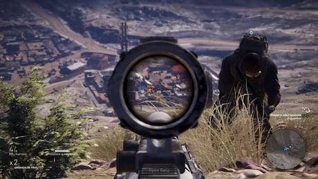 My longest sniper kill (724m) in GR: Wildlands Beta