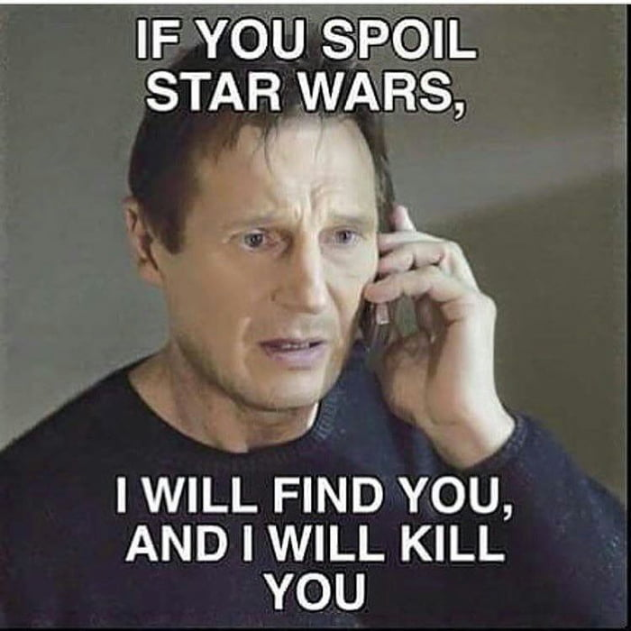 About Star Wars spoilers...