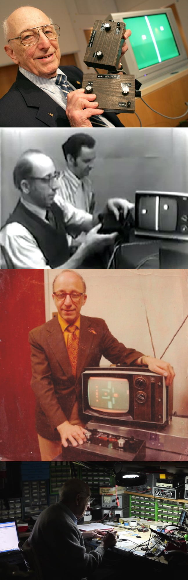 Ralph Baer, the man who created the first video game, died at the age of 92. Thank you for everything, Sir!