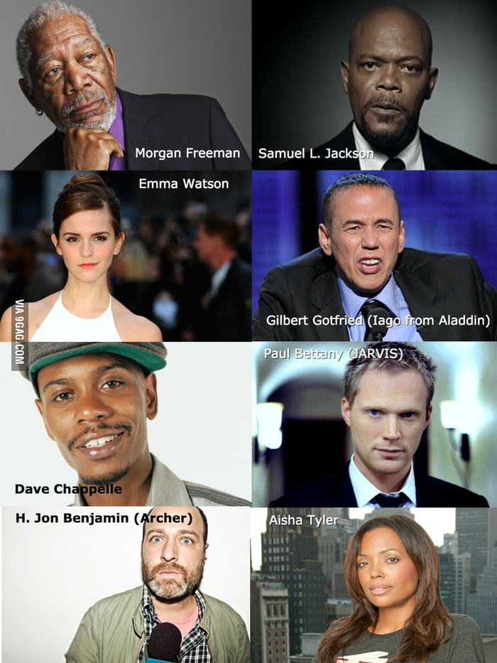 If you could give Siri (or your GPS) any of these voices, who would you pick?