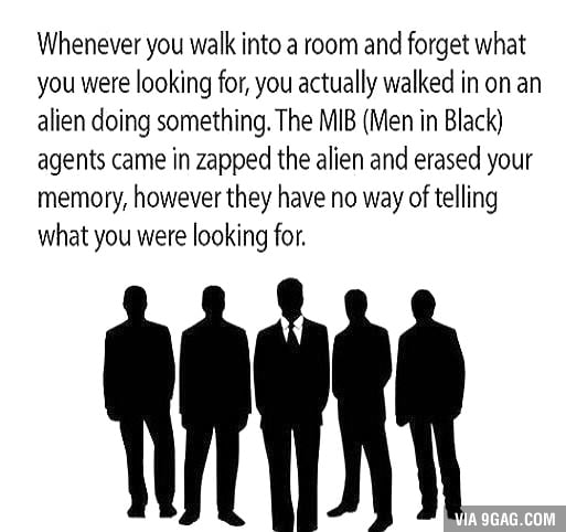 Knew it! Damn aliens!