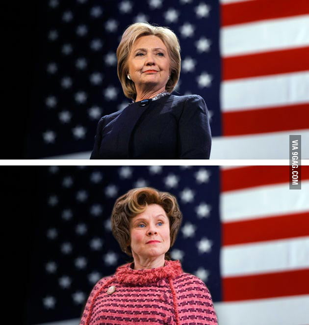 Am I the Only One Around Here?! Hillary Clinton = Dolores Umbridge
