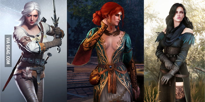 Which of the beautiful woman do you find most attractive? (Yennefer's fan)