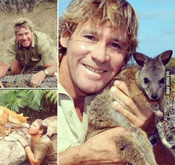 10 years ago since the death of Steve Irwin. RIP you legend!