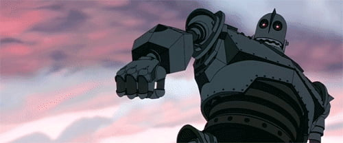 One of my favorite movies of all time (Iron Giant)