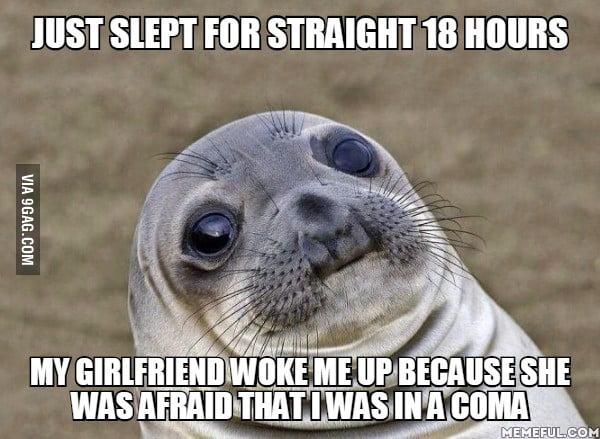 How can I sleep so long wtf