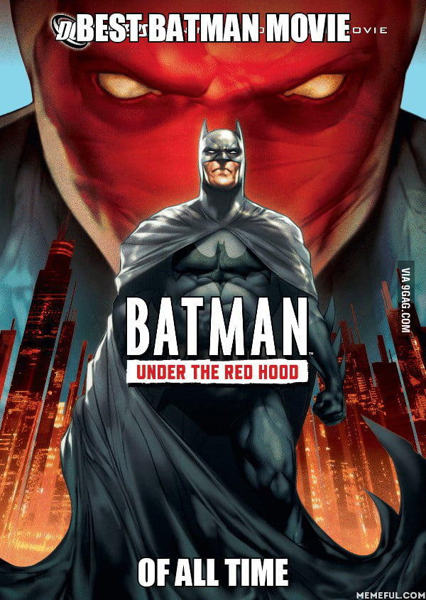 If you haven't watched this! DO IT! Best Batman movie there is. Hands down.