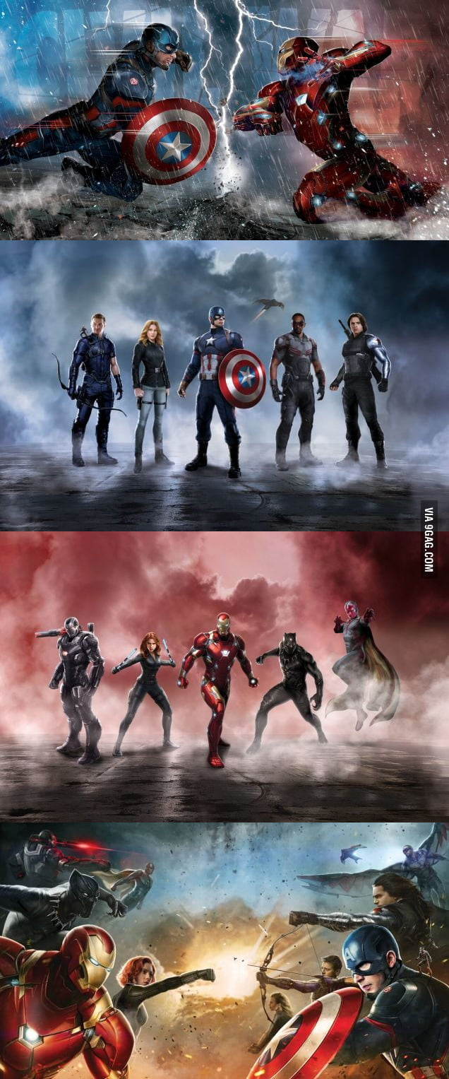 *Spoiler* Captain America and Iron Man's Civil War Teams Revealed