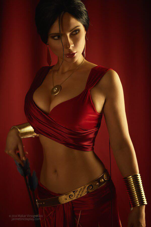 Jannet Incosplay as Farah (Prince of Persia)