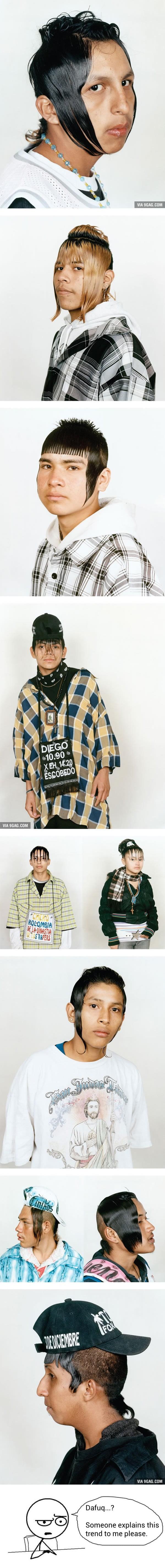 Mexican Urban Teens And Their Haircuts