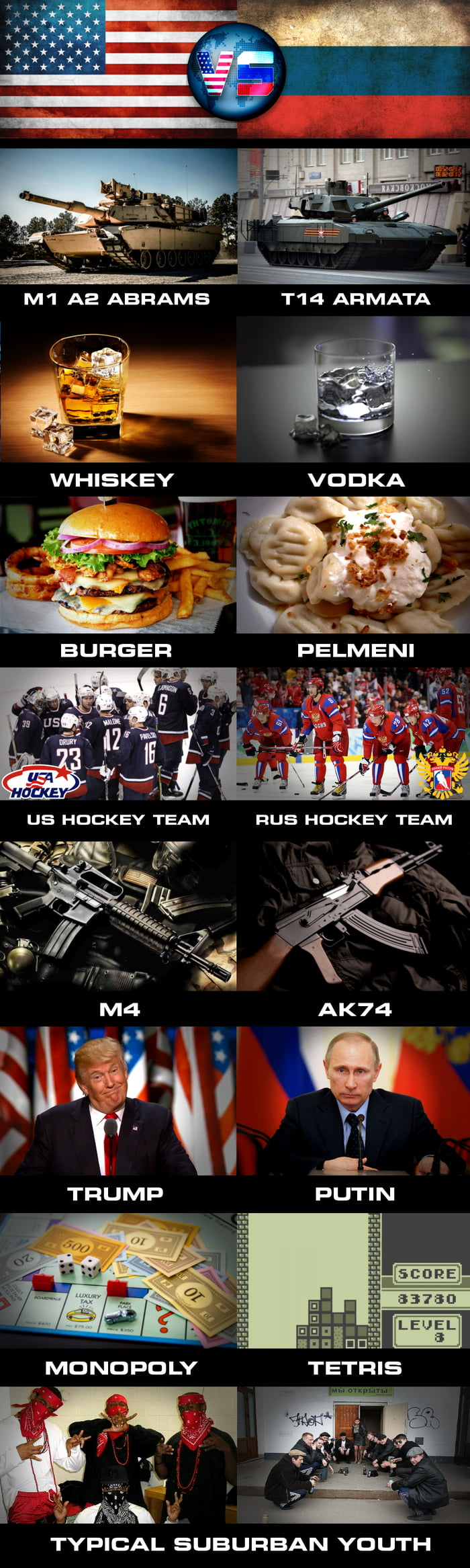 NEMESIS GAMES ROUND 2 // USA vs RUS (you decide - comment your result ...like 3:5 RUS / 6:2 USA ...)