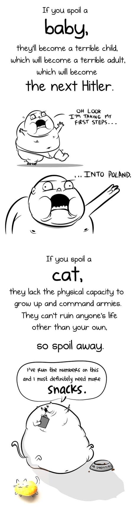 Cats>hooman babies