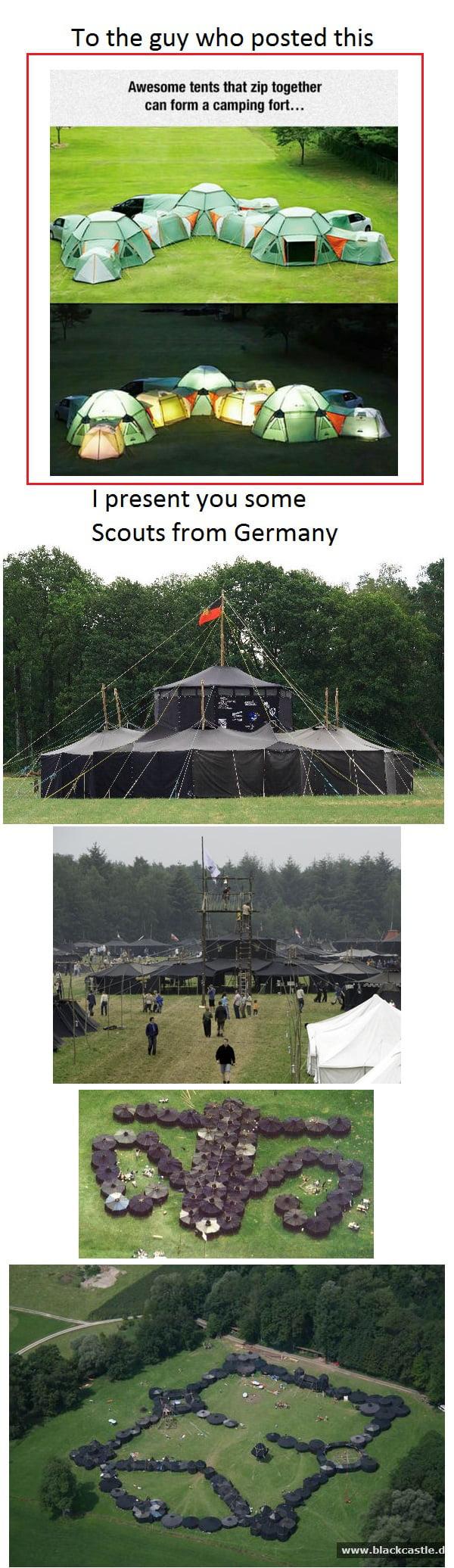 Tent citys already exist