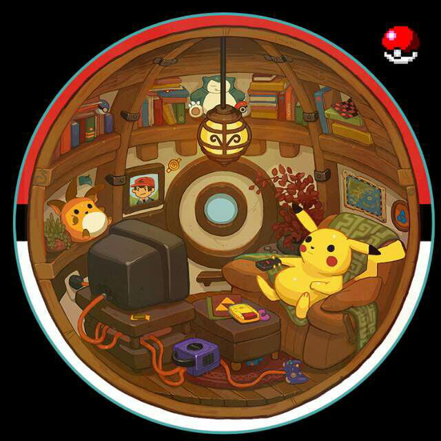 This is what is inside a pokeball