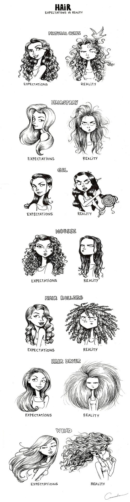 Hair: Expectation vs Reality