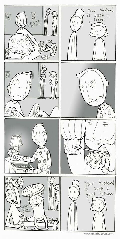 комиксы husa