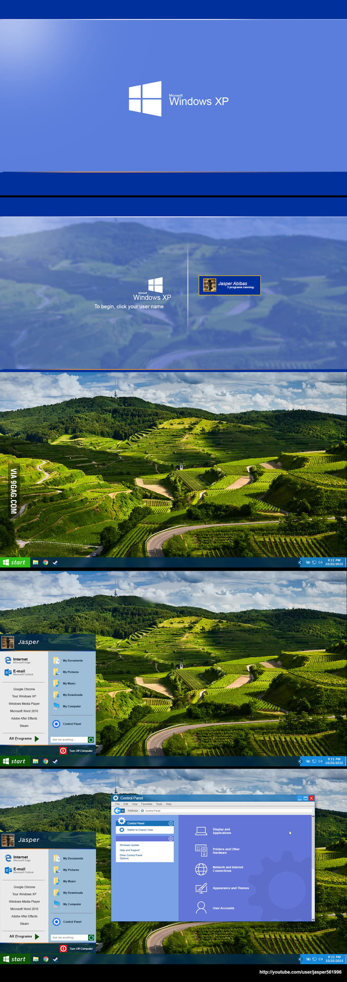 If Windows XP was released in 2015... created by me! :D I need a life