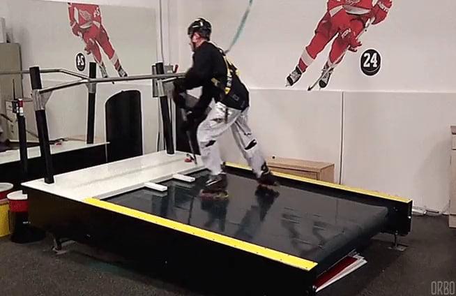 Hockey Treadmill… today I learned they exist.