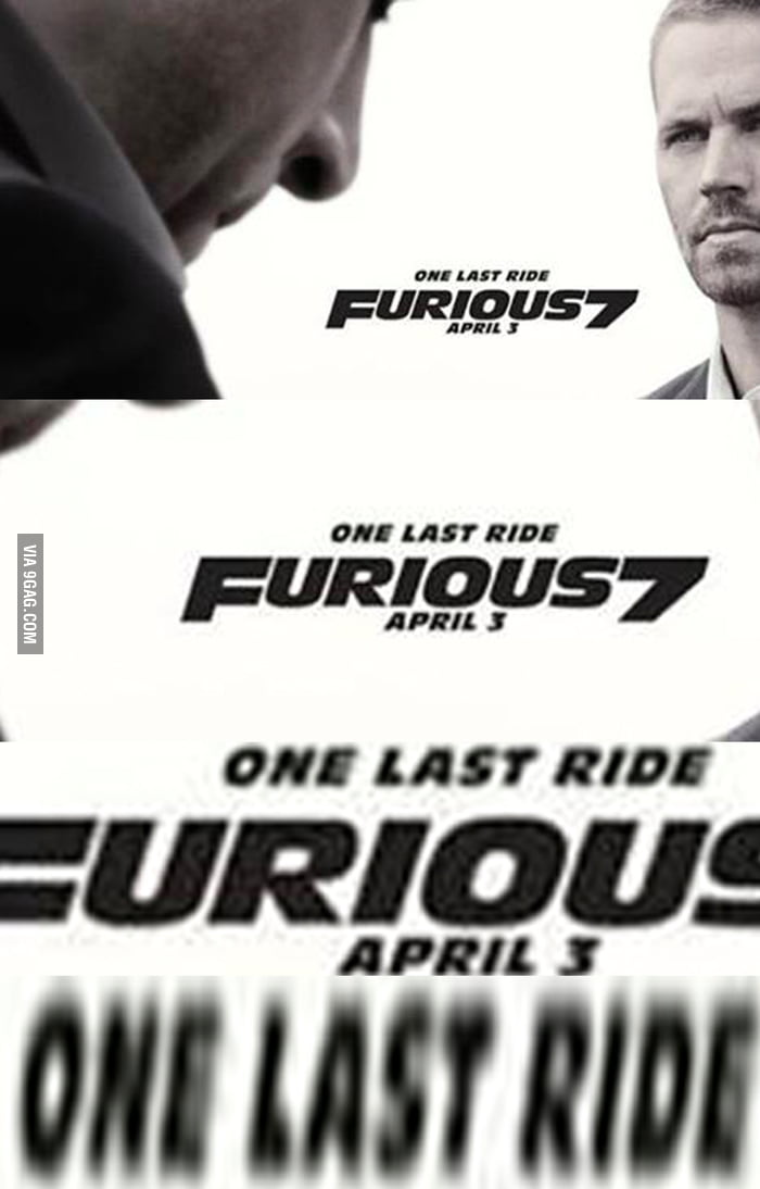 My Reaction when they confirmed Furious 8 on April 14, 2017