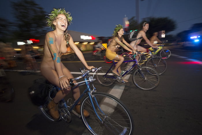 How many of you would do the World Naked Bike Ride?