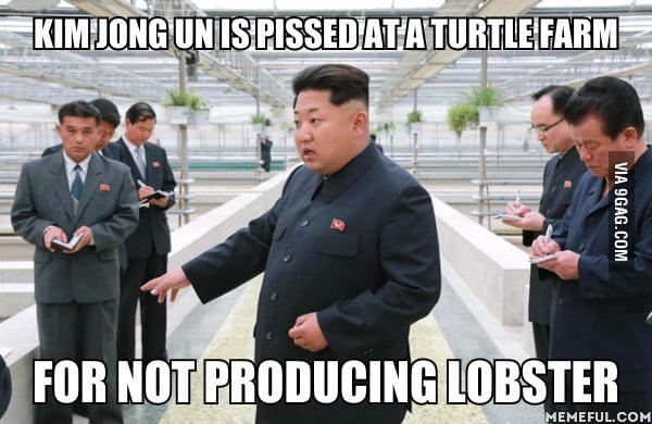 Kim Jong Un Wants Lobster, And He Wants It Now!
