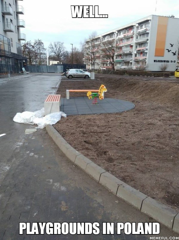 Well Playgrounds in Poland