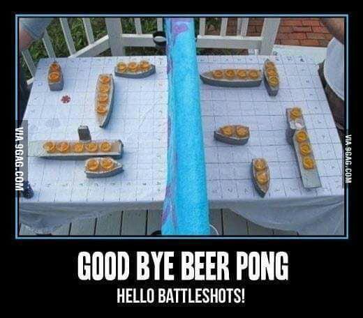 beerpong shots