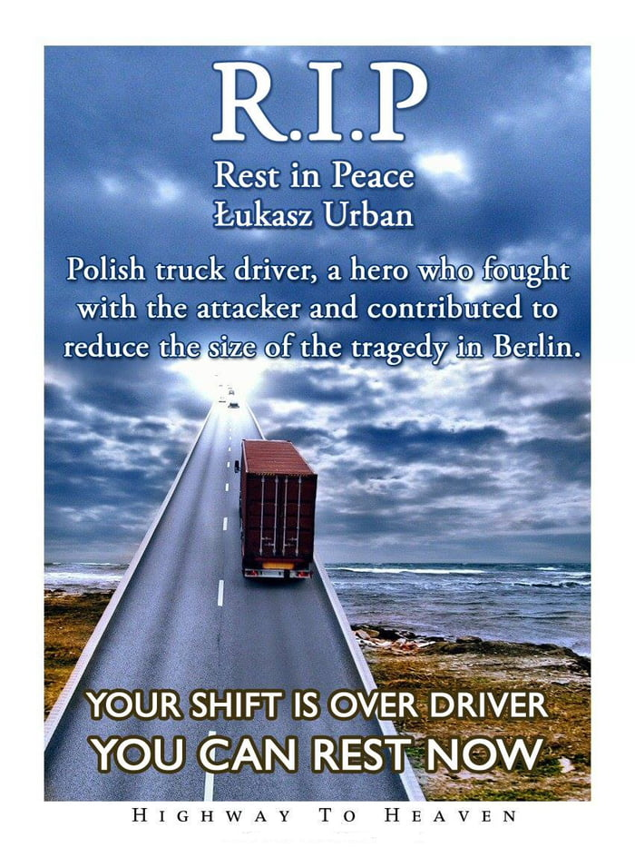 Rest in Peace my polish brethren...