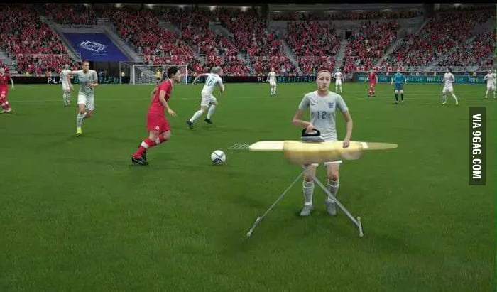 Recently was launched Fifa 16 , I've encountered some bugs when playing in the women's section.