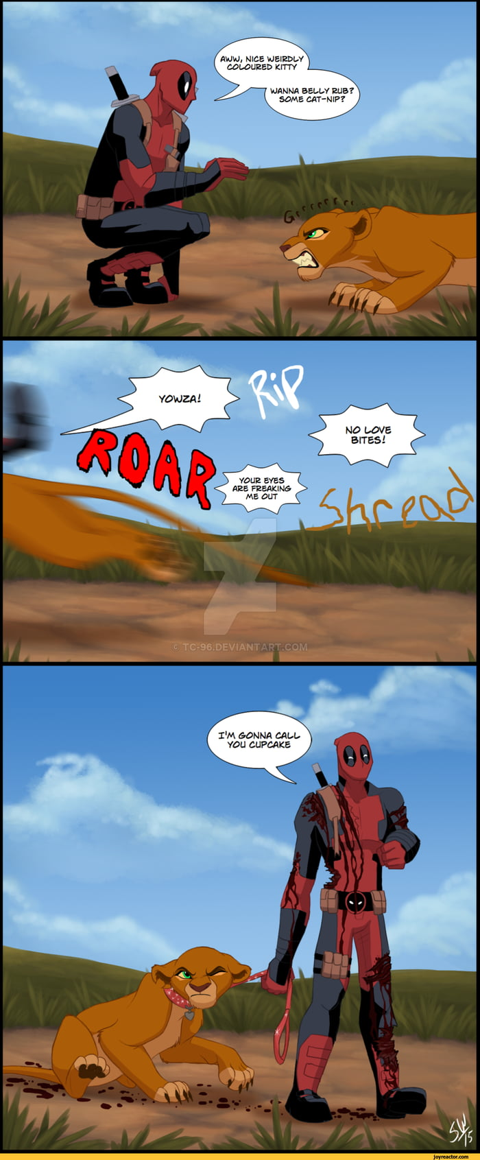Deadpool and his pet