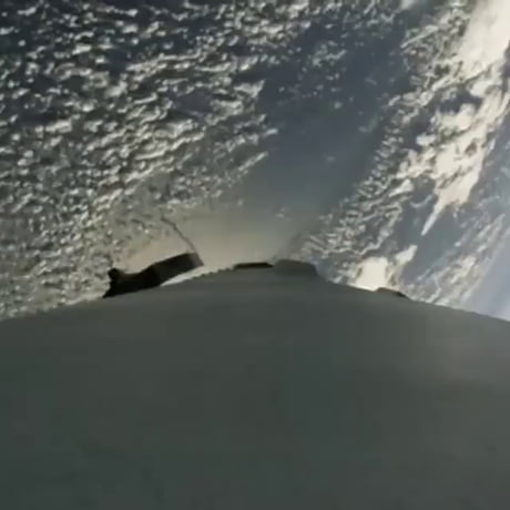 Space X's most recent landing sped up