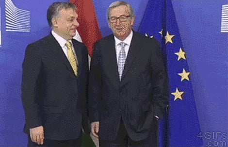 The most awkward end to a press conference ever?