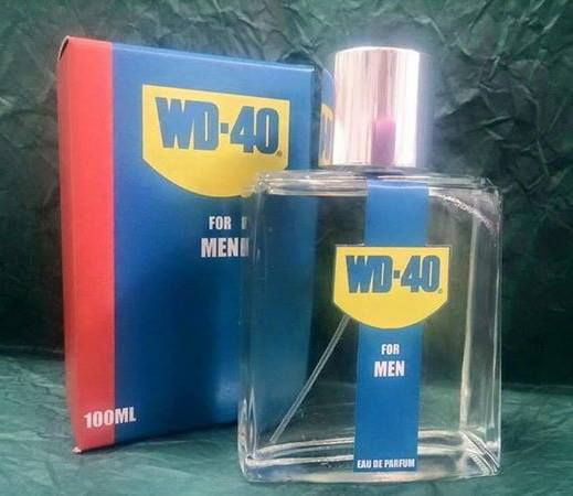 WD-40 Perfume Smell like real men!