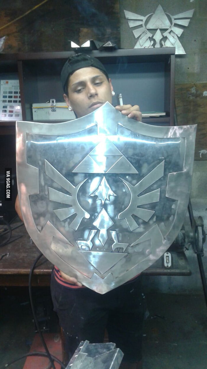 So I just picked up wielding, what you guys think of my 1st project (that's my bro holding it up)