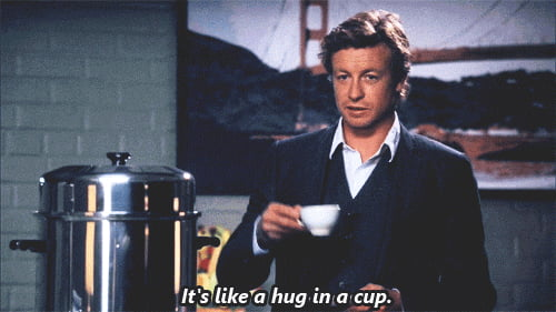 When people ask me why I drink tea.