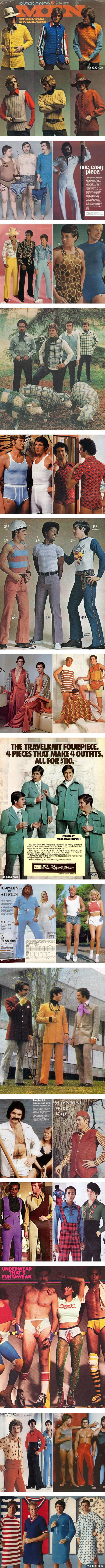 Awkward 70s Male Fashion