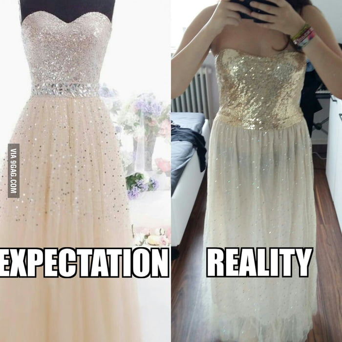 This is why you shouldn't order a prom dress from China...