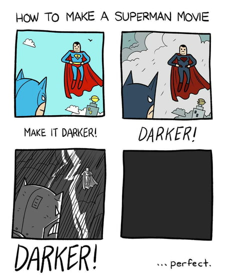 How to make a superman movie