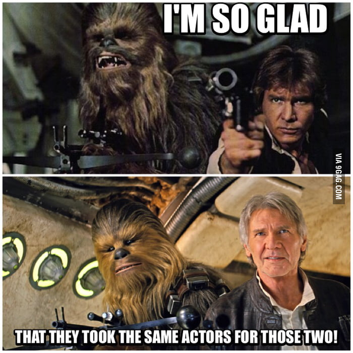 But, Chewie... Do you even age?