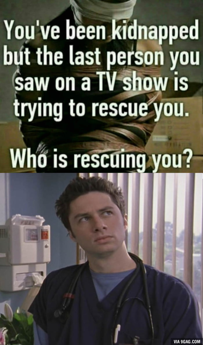 He would rescue me... in his dreams
