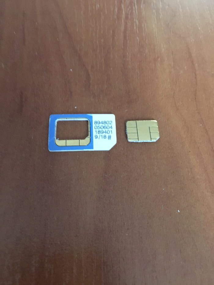 I just bought new phone for 500€ I asked if they can cut my old SIM card to nanoSIM