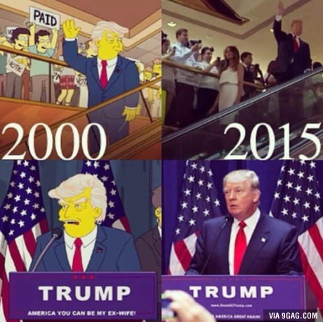 Simpsons predicted it again...