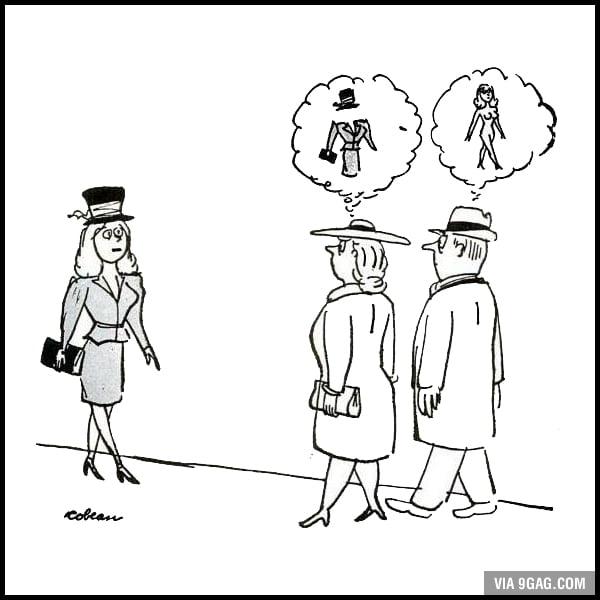 Seeing A Woman: Man vs Woman