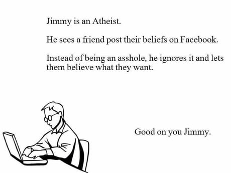 Good on ya, Jimmy!