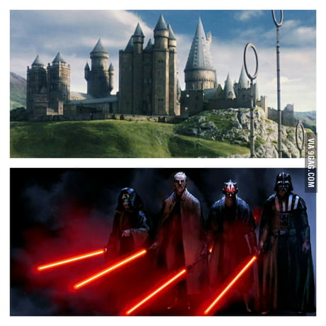 Would you rather go to Hogwarts or join the dark side? Why?