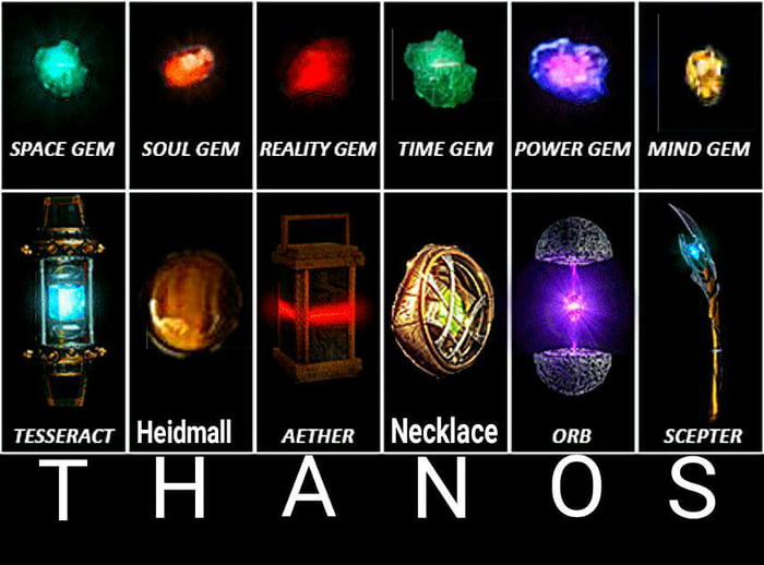 Infinity stones my dear